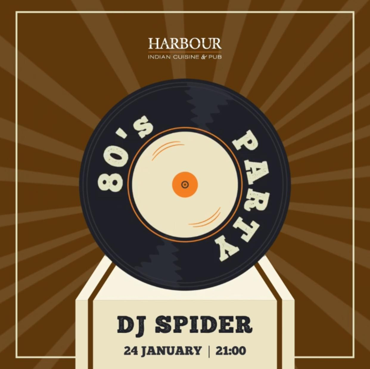 80's party - DJ Spider