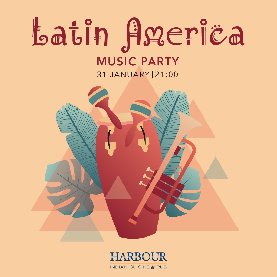 Latin America music party